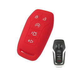FIT FOR 2016 FORD FUSION MONDEO MUSTANG F150 SILICONE CAR KEYLESS FOB CASE COVER