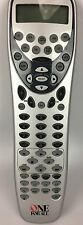One for All Universal Remote Control - CD,TV, DVD, CBL, SAT, VCR, AUX, AMP, RCVR