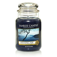 ☆☆EVENING AIR☆☆ LARGE YANKEE CANDLE JAR ☆☆NICE  COLD EVENING FRESH AIR SCENT