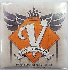 Sfarzo Vintage 11-48 Blues V Original Nickel Design Guitar Strings