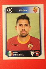 PANINI CHAMPIONS LEAGUE 2010/11 # 310 AS ROMA BORRIELLO BLACK BACK MINT!