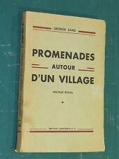 Promenades autour d'un village George SAND &  2 poèmes de J. BRUNAUD