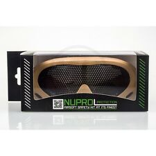 NUPROL PRO NP PMC MESH EYE AIRSOFT PROTECTION GOGGLES - TAN - OFFICIAL PRODUCT
