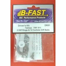 B-Fast BFR-DR51 Driver's Kit Diff Rings (2 rings) & Carbide Diff Balls(12)TRF511