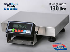 130x0.005lb Bench Scale | Shipping Scale | Postal Scale w/ USB Cable + Soft