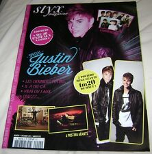 JUSTIN BIEBER ALL ABOUT HIM FRENCH POSTER MAGAZINE EXTREMELY RARE 2012 PURPOSE