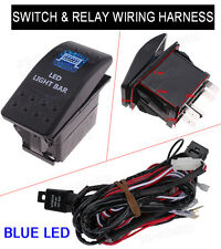 Universal 5Pin Car 12V 24V Dual LED LIGHT BAR Switch ON-OFF Relay Harness Wire
