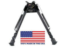 "HBLS Harris Bipod - Extends from 9"" to 13"" - Swivels - Ultralight - Made in USA"