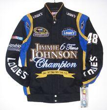 Size L Nascar  Lowes Jimmie Johnson 6 Times Champion Cotton Jacket JH Design
