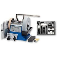 Tormek T4 T-4 Water Cooled Sharpening System with HTK-706 Hand Tool Kit 717659
