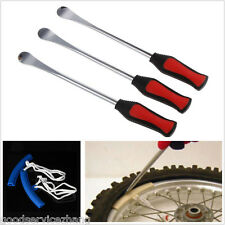 3x Spoon Motorcycle Tire Tyre Iron Changing+2 Rim Protector Anti Scratches Tool