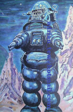 Forbidden Planet - Robby The Robot - Original Painting - 12 x 16
