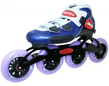 Inline Speed Skates by TruRev with 110mm skate wheels and ceramic bearings