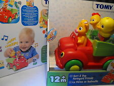 BABY BOY / GIRL TOY AGE 12 MONTHS PLUS FARM YARD ANIMALS MUSICAL SORTING TOY NEW