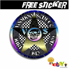 BMX OIL SLICK STICKER GOTHIC VOODOO OCCULT LOGO STICKER OLD SKOOL