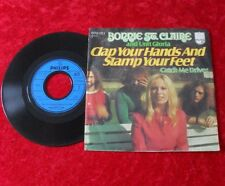 "Single 7"" Bonnie St. Claire - Clap your hands and stamp your feet"