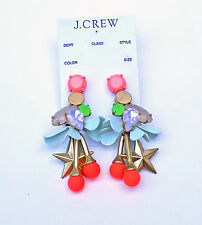 NWT Authentic J Crew Midsummer earrings Multi Item C6683 $45