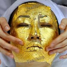 100pcs 24K GOLD LEAF FOR LIFTS & FIRMS SKIN  REDUCE THE APPEARANCE OF FINE LINES