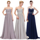 Sexy Women's Dresses Bridesmaid Evening Party Formal Prom Dress Gown In Stock
