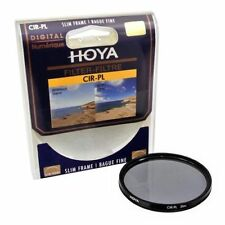 Filtre polarisant HOYA NEUF CIR-PL 77 mm / NEW CIR-PL Camera Lens Filter 77 mm