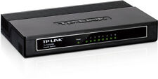 TP-Link 8-Port Gigabit Desktop Switch Model TL-Sg1008D Computer Accessory Black