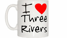 I Love Heart Three Rivers Mug