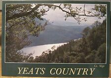 Irish Postcard W. B. YEATS COUNTRY Sligo Lakes Ireland Kennedy John Hinde 2/674