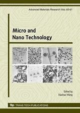 Micro and Nano Technology (Advanced Materials Research), , New Books
