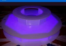 Round 340mm ctr chocolate fountain led light base new Remote Led Lighting