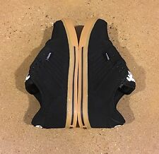Osiris Protocol Size 6 US Black White Gum BMX DC Skate Shoes Sneakers