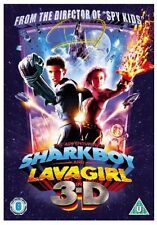 ADVENTURES OF SHARKBOY AND LAVAGIRL 3D DVD SHARK BOY LAVA GIRL New UK Release