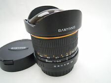 SAMYANG FISHEYE CS lente 8MM F3.5