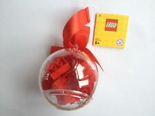 LEGO 853344 HOLIDAY ORNAMENT WITH RED BRICKS BRAND NEW CHRISTMAS BAUBLE