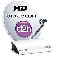Videocon d2h HD Set Top Box with 12 Months New Gold Sports pack