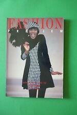 FASHION PREVIEW A/W 1991/1992 NEW YORK PRET A PORTER COLLEZIONI ALTA MODA