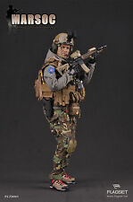 "Flagset 12"" 1/6  US Marine MARSOC USMC Special Operations Command"