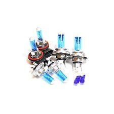 H7 H4 H11 501 100w Super White Xenon HID High/Low/Fog/Side Light Bulbs