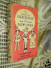 Old Dolls & How to Make New Ones Winifred H Mills Photo of Shirley Temple & Doll