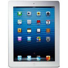 Apple iPad 4th Generation 64GB, Wi-Fi + Cellular (Unlocked), 9.7in - White (Late