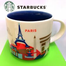 Starbucks You Are Here City PARIS Collection Serie YAH, 14oz SKU new Mug FRANCE