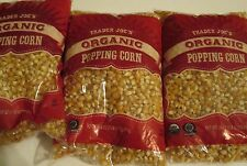 Trader Joe's Organic Popping Corn 3 bags @ 28 oz each Free Shipping