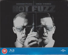 Hot Fuzz 100th Anniversary Collection, Blu Ray Steelbook,Out Of Print, NEU & OVP