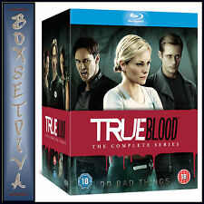 TRUE BLOOD -COMPLETE SERIES-SEASONS 1 2 3 4 5 6 & 7  *BRAND NEW BLU-RAY BOXSET*