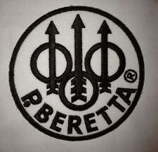 "Betetta Guns, Firearms Manufacturer Embroidered 3"" Patch + FREE PHONE STICKER"