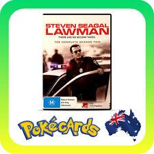 Steven Seagal - Lawman : Season 2 (DVD, 2011, 2-Disc Set) - FREE POSTAGE!