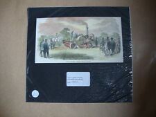 Genuine Hand Coloured Antique Print of Crosskill's Romaine Cultivator. by Anon