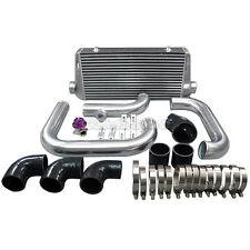 Cxracing Front Mount Intercooler kit + BOV for Camaro LS1 Single Turbo black