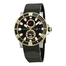 Ulysse Nardin Maxi Marine Diver Black Rubber Mens Watch 265-90-3C-92