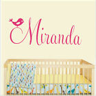 Custom Baby Personalised Name Wall Removable Stickers Vinyl Decal Nursery Kids