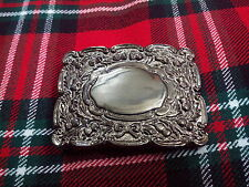 TC Men's Kilt Belt Buckle Thistle Matt Antique Finish/Thistle Kilt Belt Buckles